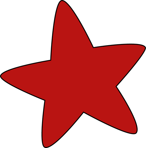 Red Star Border Free