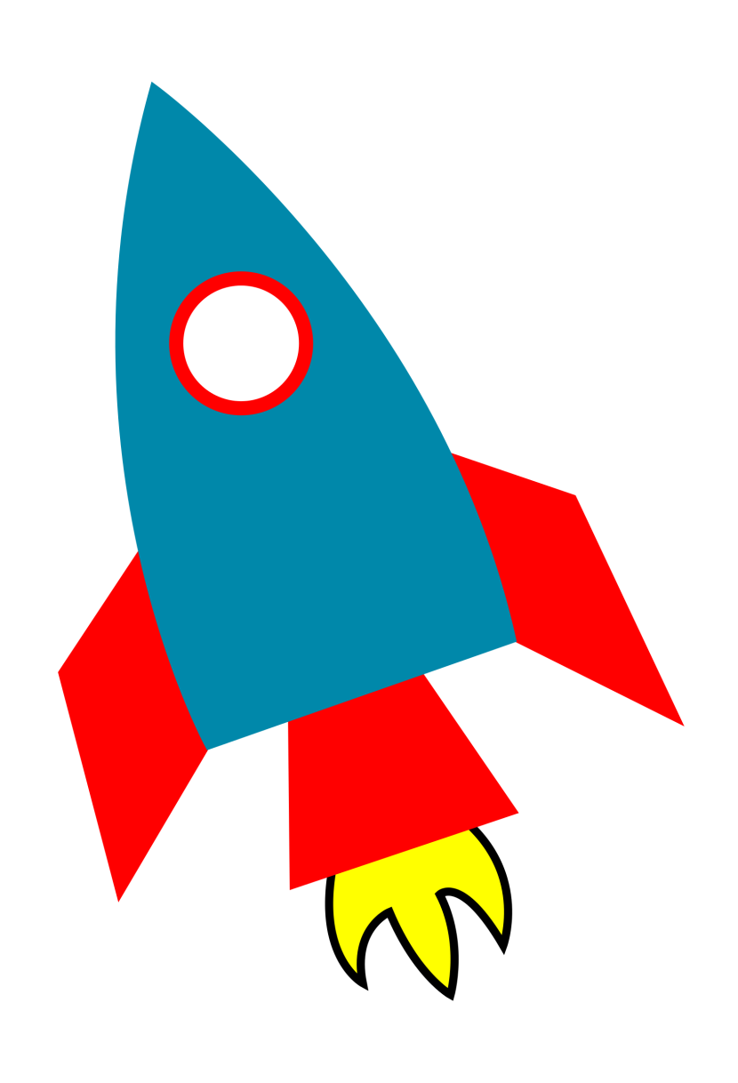 Rocket Gallery Clipart