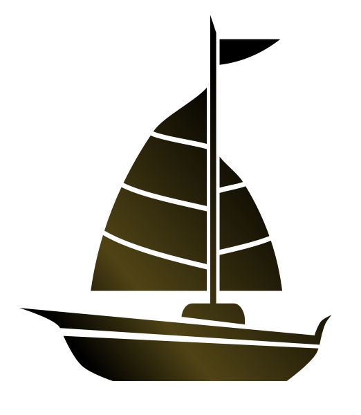 Sailboat Clipart Image Silhouette Of A Sailboat
