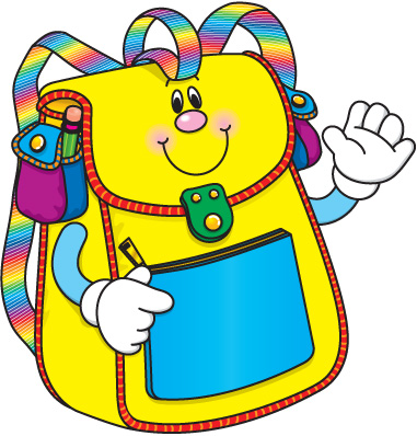 School Backpack Clipart Free