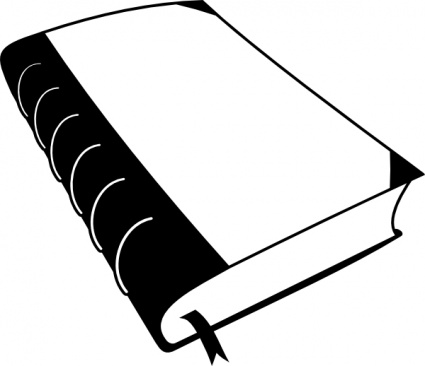 School Books Clipart Black And White Free