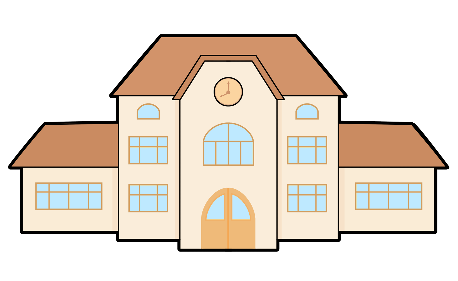 Best School Building Clipart #26982 - Clipartion.com