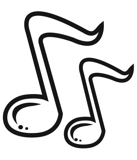 Single Music Notes Free