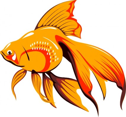 Striped Tropical Fish Free Vector In Open Office Drawing