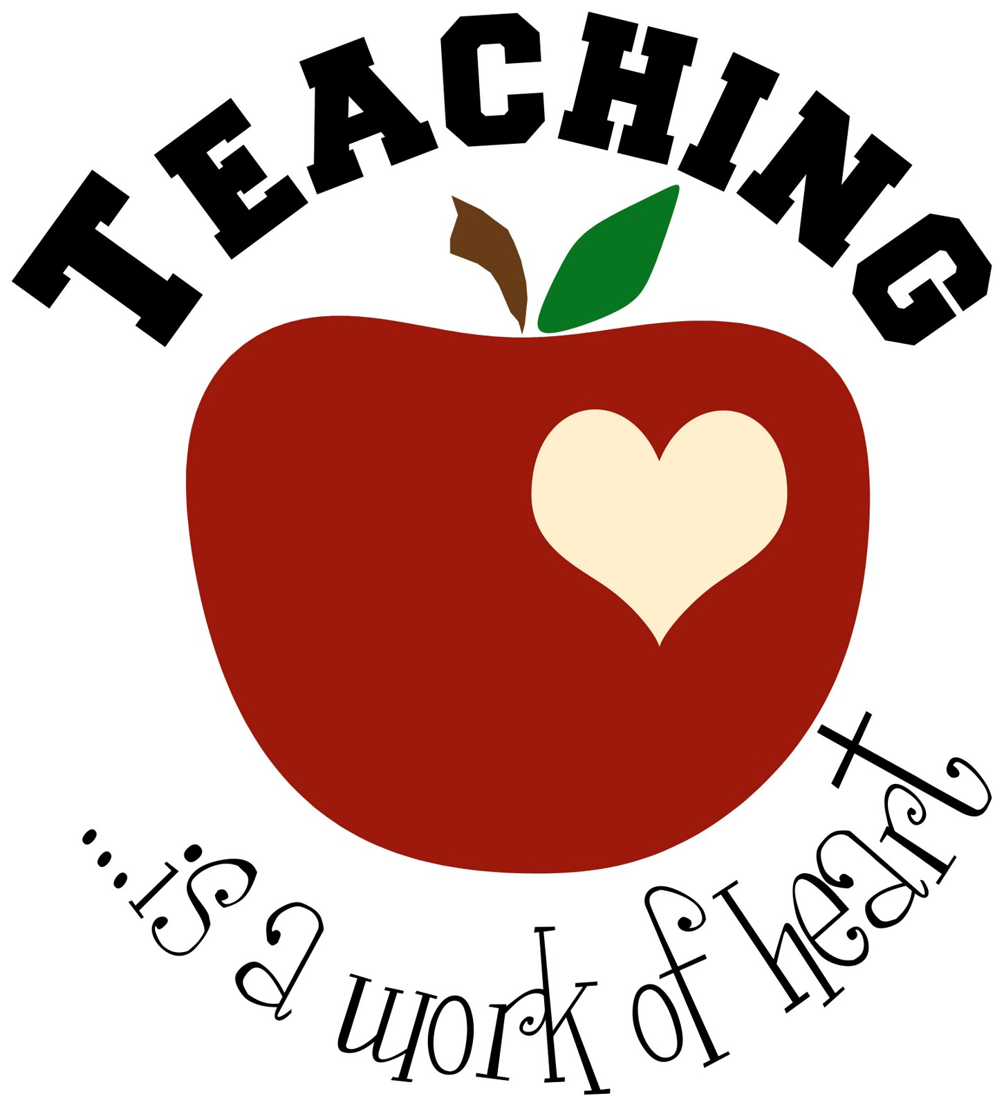 Teacher Apple Clipart Free