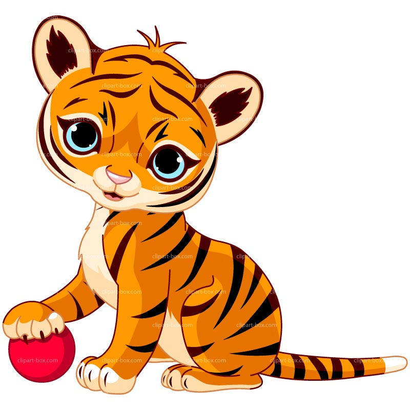 Tiger For Kids Free Clipart