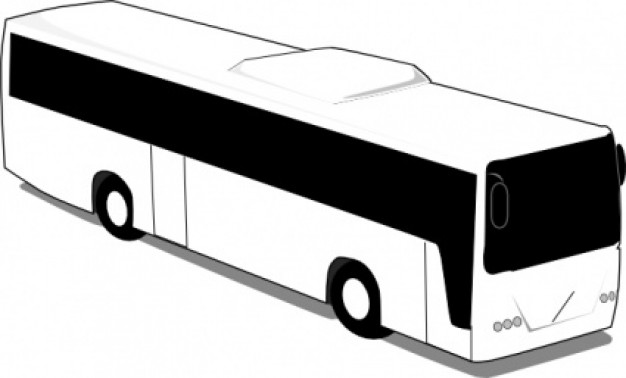 Tour Bus Clipart Free