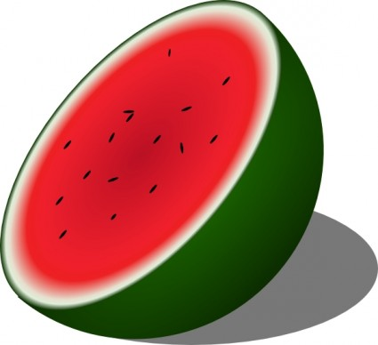 Watermelon Free Vector In Open Office Drawing