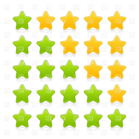 Yellow Star Clipart