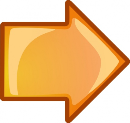 Arrow Orange Right