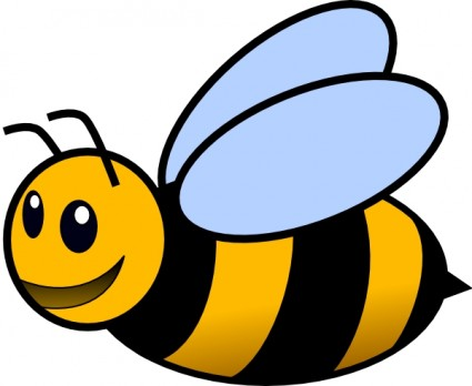 Bee Free Vector In Open Office Drawing