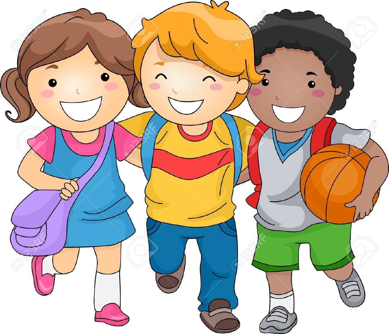 Best School Children Clipart #28793 - Clipartion.com