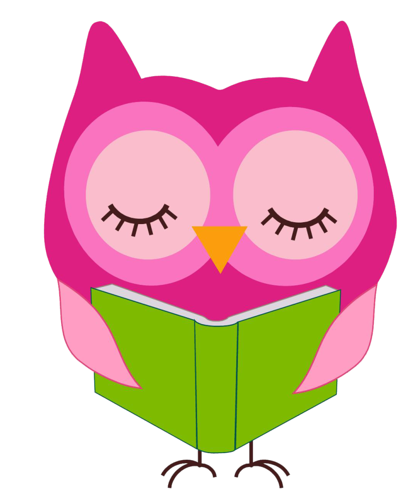 Best Owl Reading Clipart