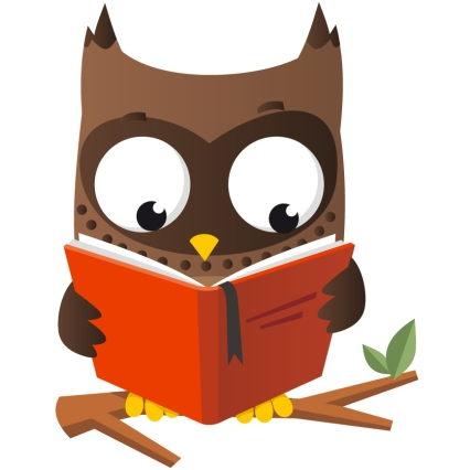 Best Owl Reading Clipart Clipartion Com