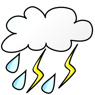 Best Storm Cloud Clipart Weather Clipartion Com