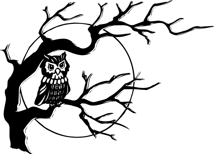 Black And White Owl Clipart Best Cliparts For You