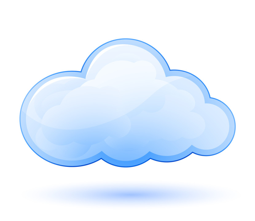 Blue Cloud Clipart