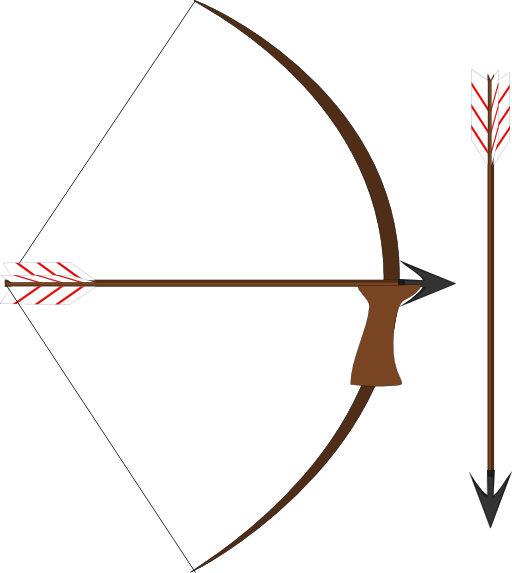 Bow And Arrow Clipart Free Clipart Clipart