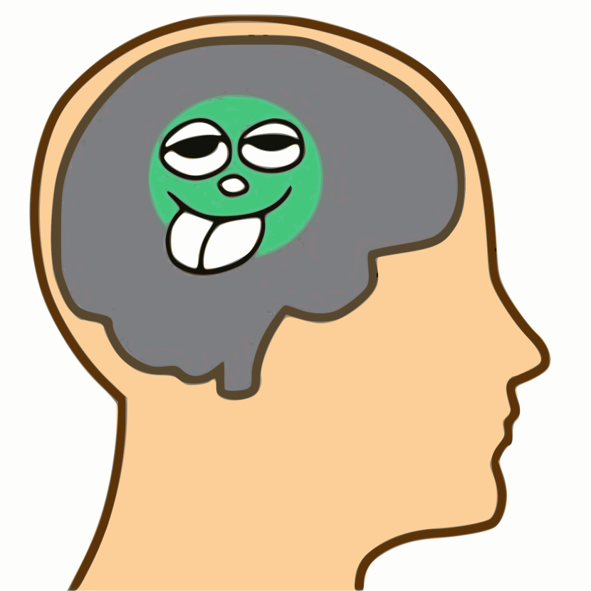Brain in Head Clipart