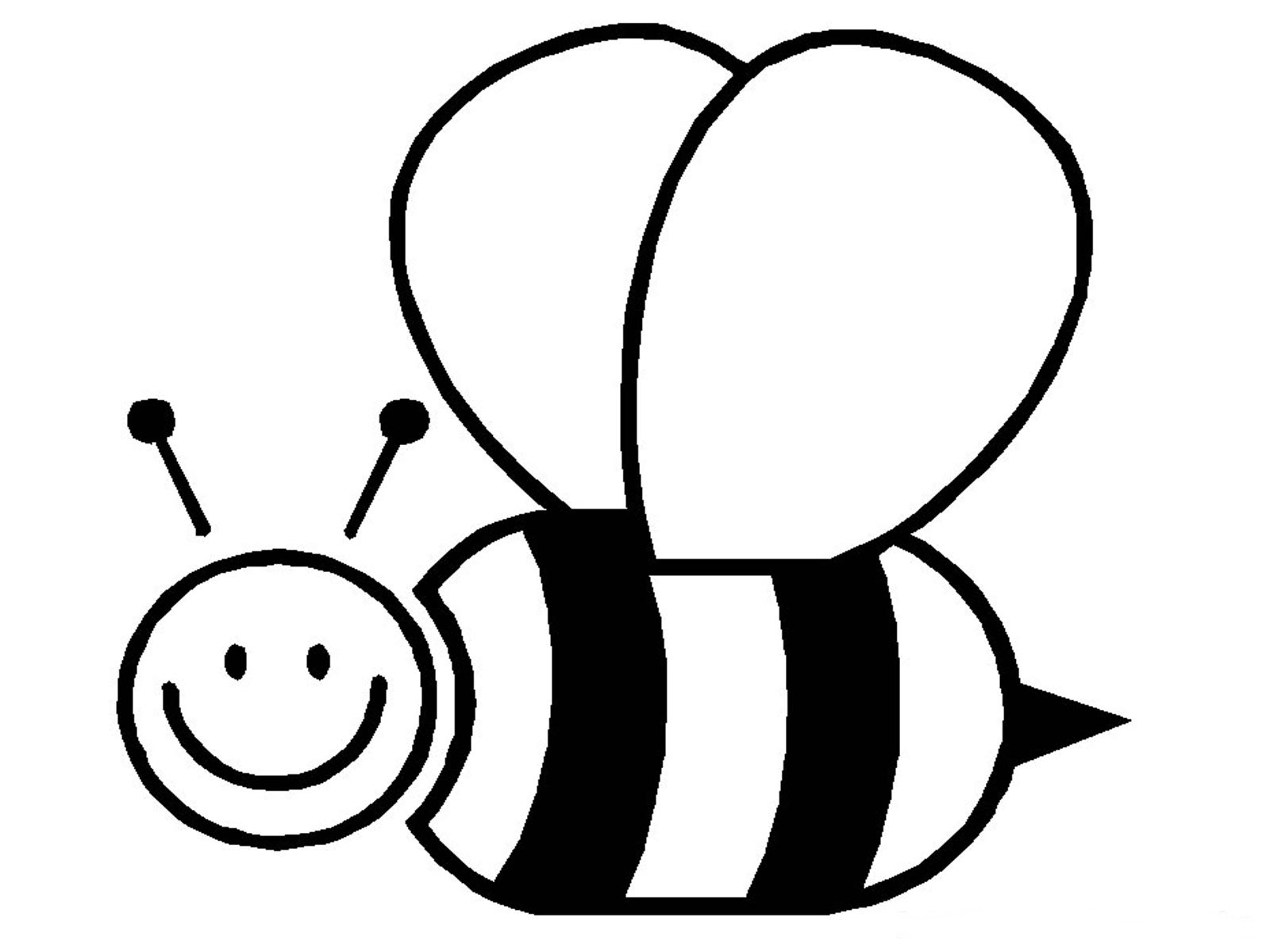 Best Bee Clipart Black And White 29173 Clipartion Com