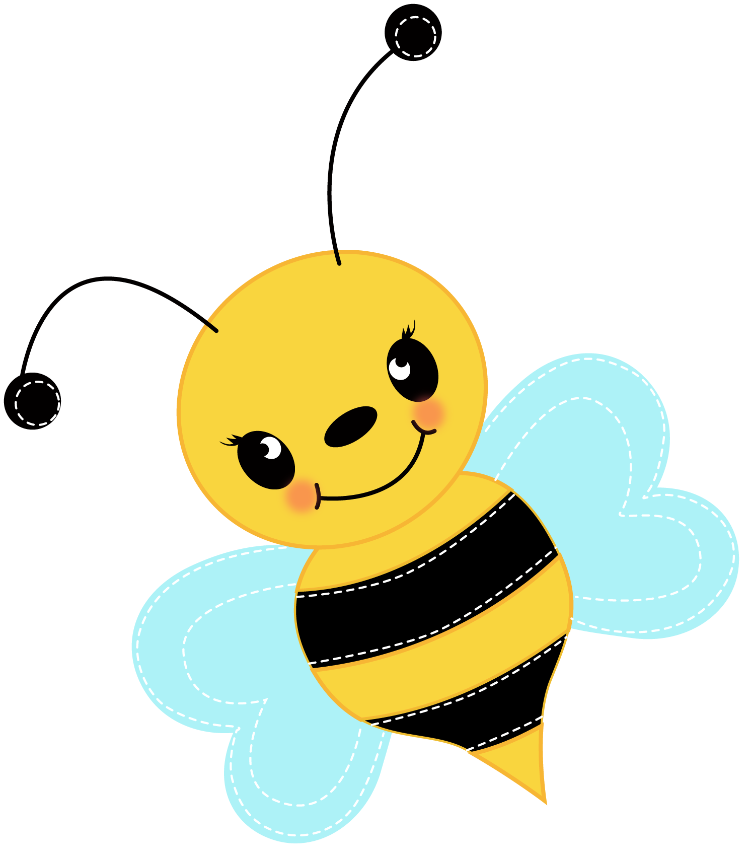 Best Flying Bee Clipart 29218  Clipartioncom