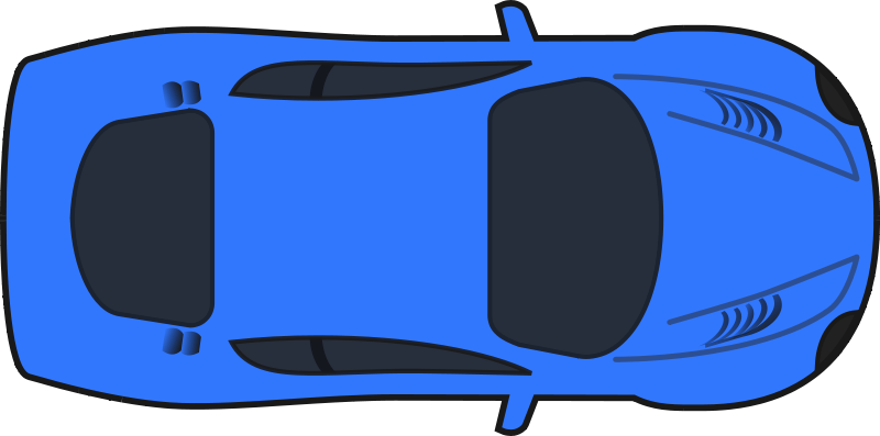 Car Clipart Top View