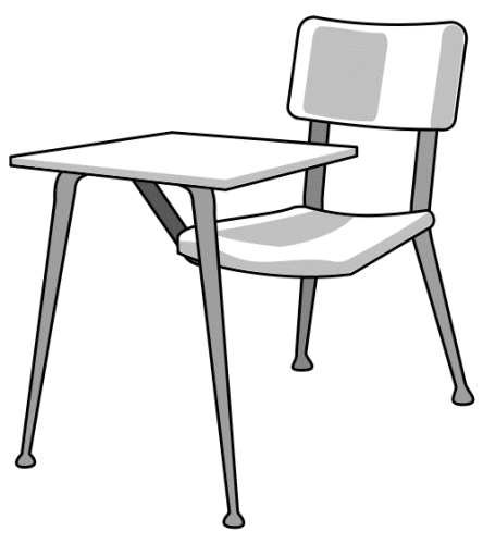 Classroom Black And White Free Clipart