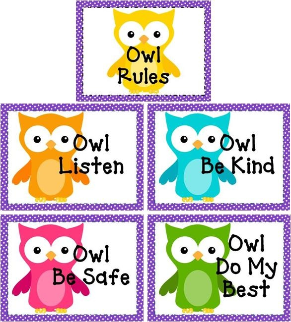 Classroom Rules Clipart Free