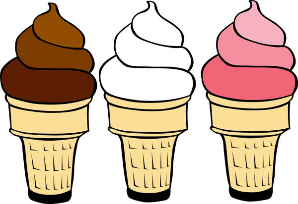 Clip Art Ice Cream Cone