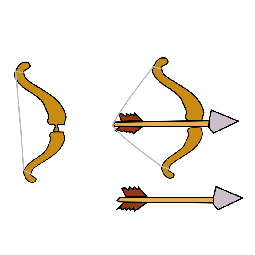 Clipart Bow And Arrow