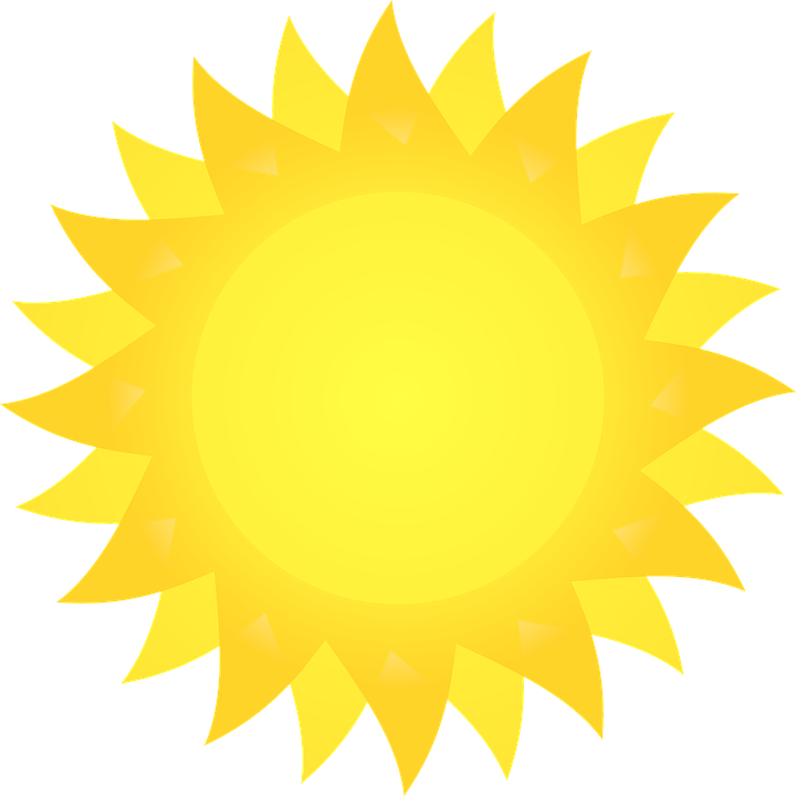 Clipart Sunshine Free Vector Graphics