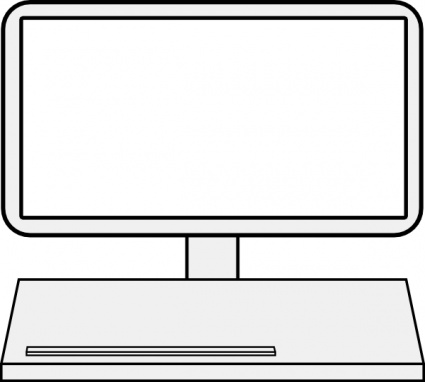 Computer Keyboard Clipart