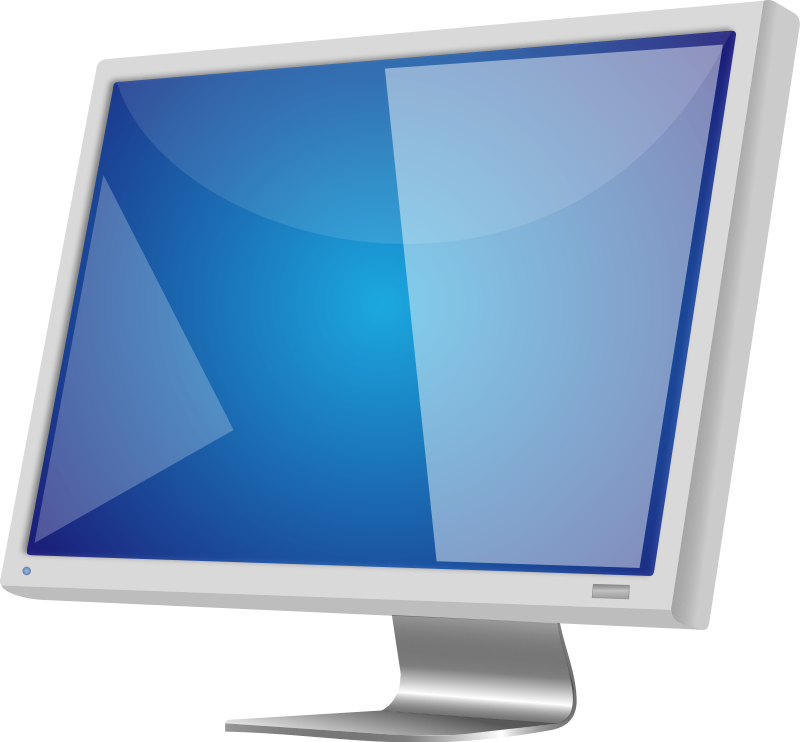 Computer Monitor Clipart