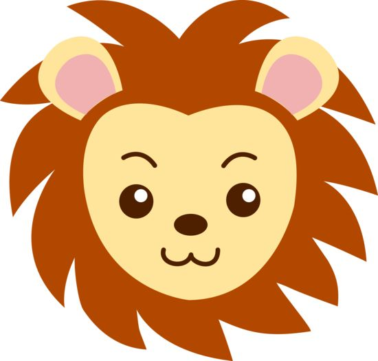 Cute Lion Face Free Kids Lion Faces
