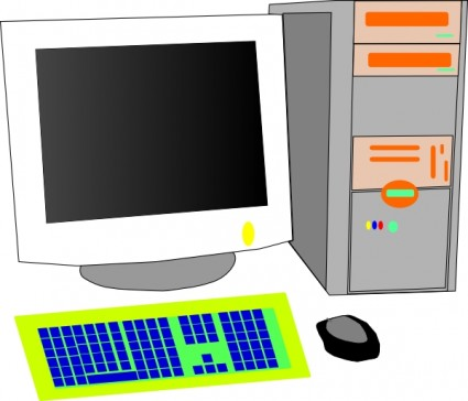 Desktop Pc Free Vector Free
