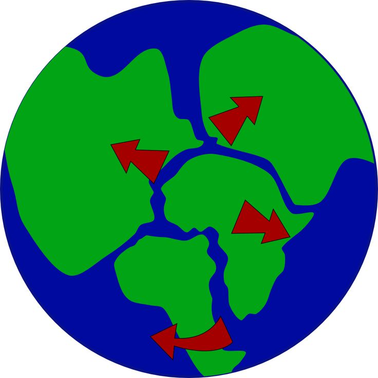 Earth With Continents Breaking Up Pangaea Free