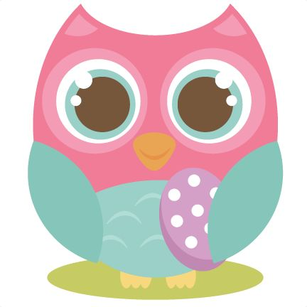 Easter Owl Cutting File Cute Owl Clipart Free Cut Files