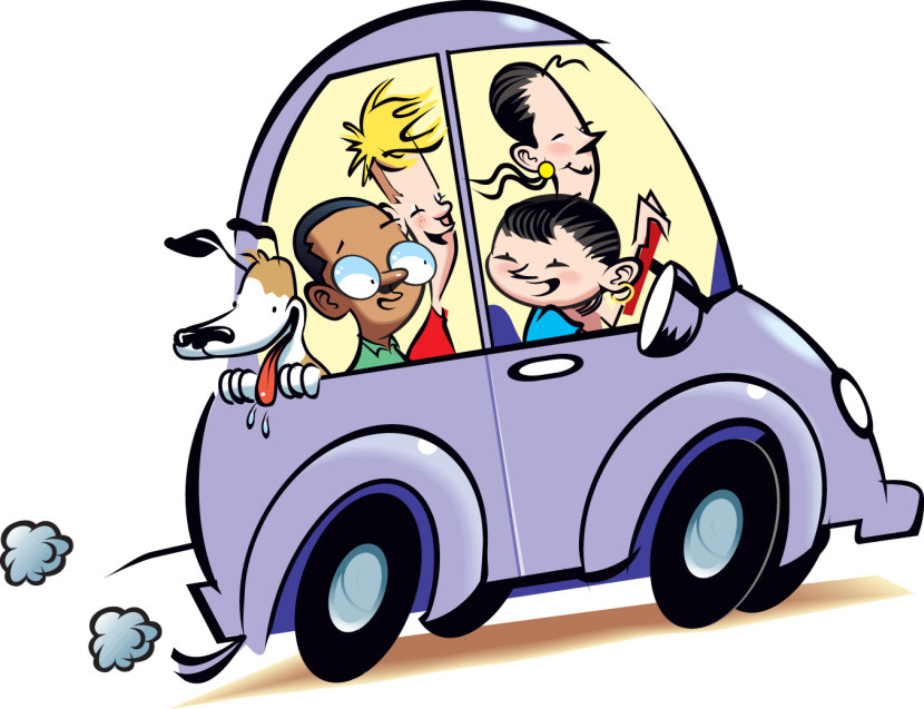 Family Car Clipart Free