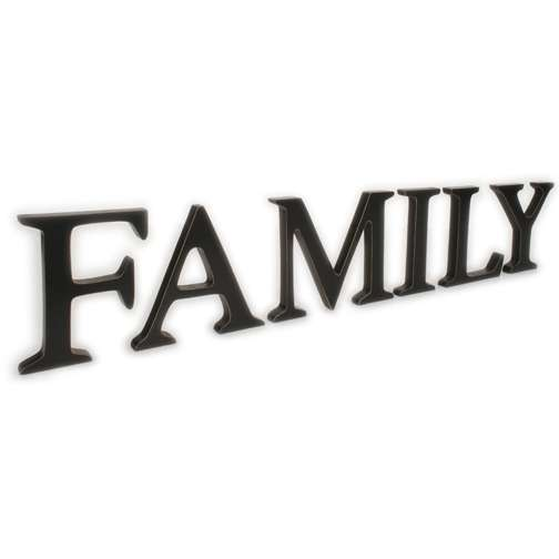 Family Word Clipart