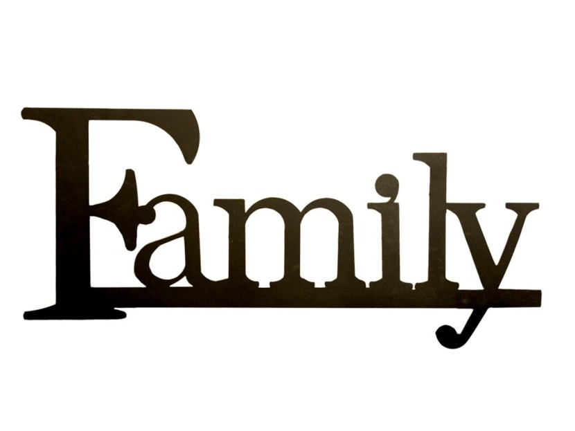 Family Word Clipart Free