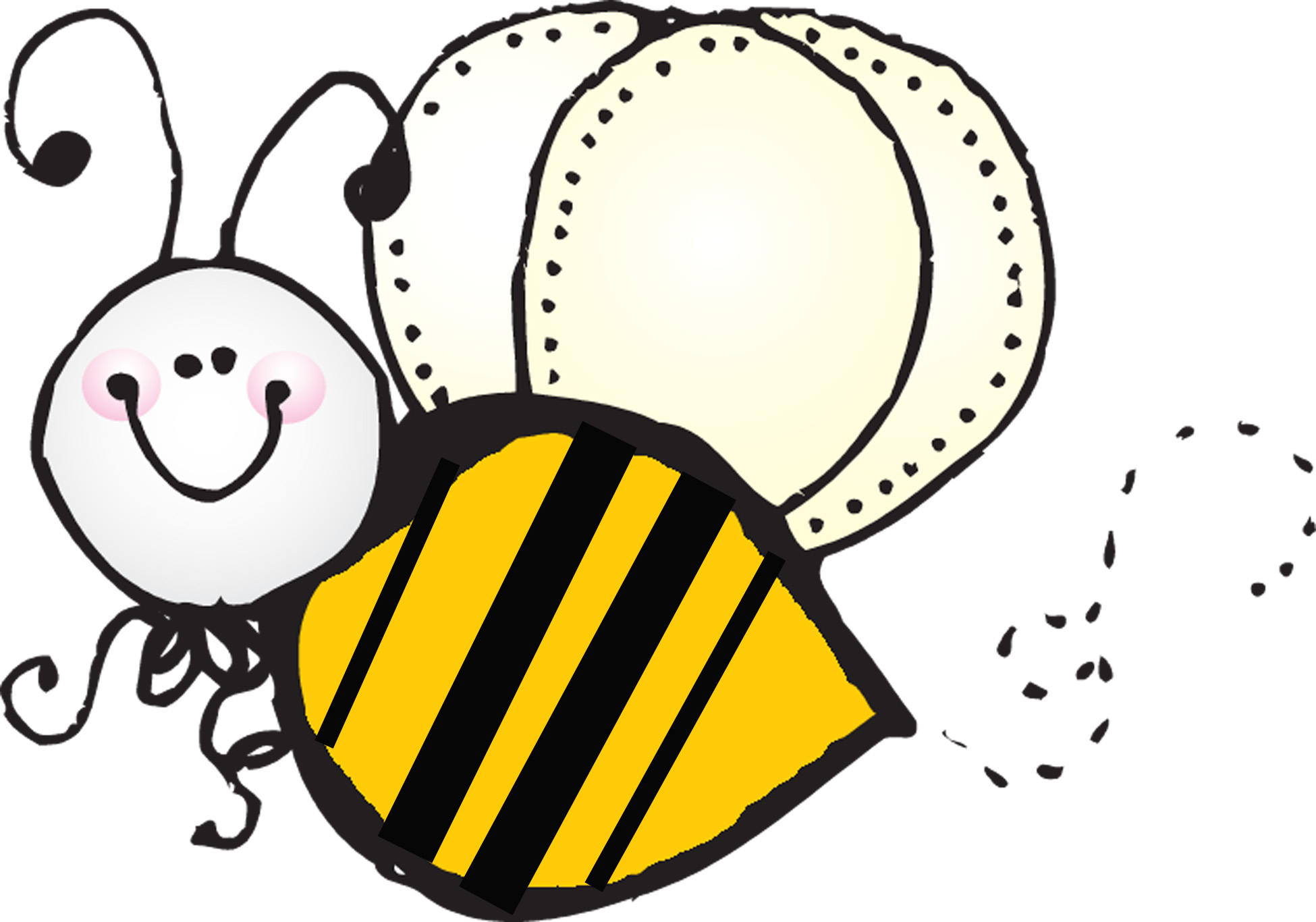 best flying bee clipart 29214 clipartioncom