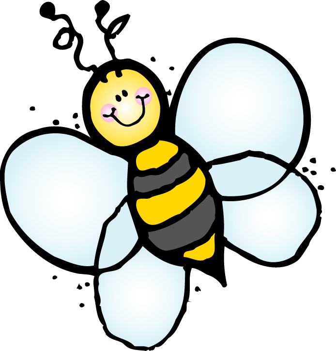Flying Bee Graphic Bee Hi Cliparts