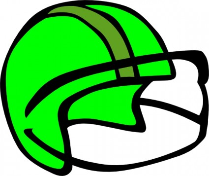 Football Helmet Free Vector In Open Office Drawing