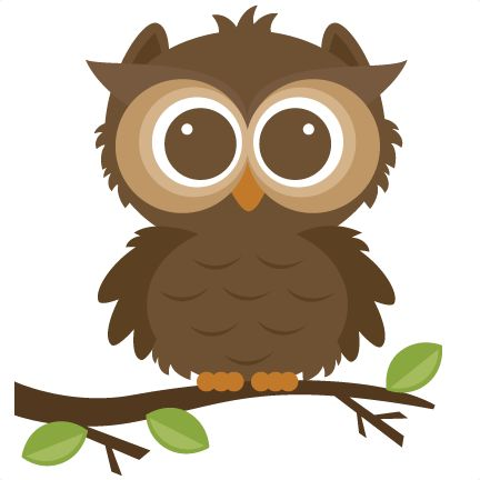 Forrest Owl Cut File For Scrapbooking Forrest Animals