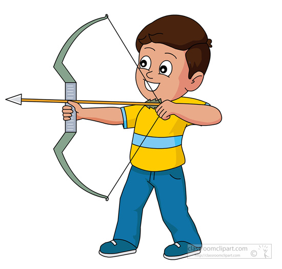 Free Sports Archery Clipart Graphics