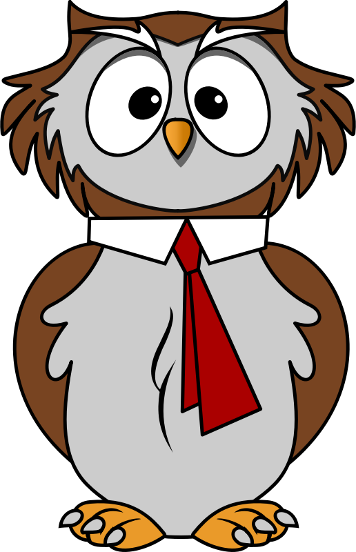 Free To Use Owl Page