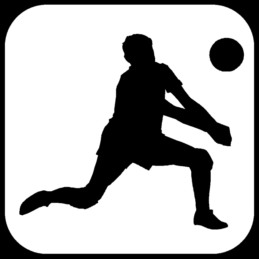 Best Volleyball Player Silhouette Clipat 28333