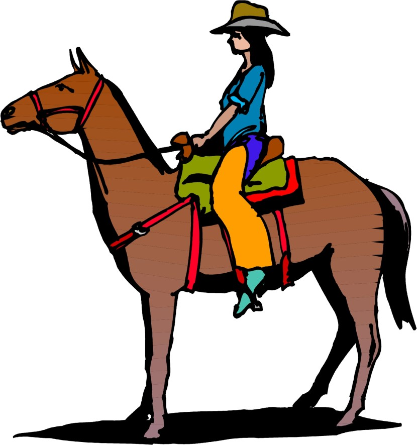 Horse Rider Cartoon