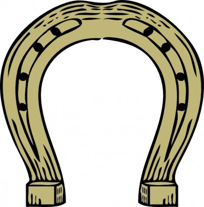 Horseshoe Free Vector In Open Office Drawing