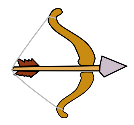 Hunting Bow And Arrow